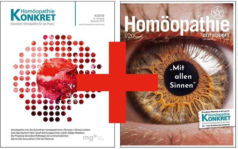 Zusammenschluss von Homöopathie KONKRET und Homöopathie Zeitschrift