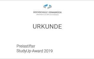 Fachverlage stiften Preis für Abschlussarbeit an der Hochschule Osnabrück